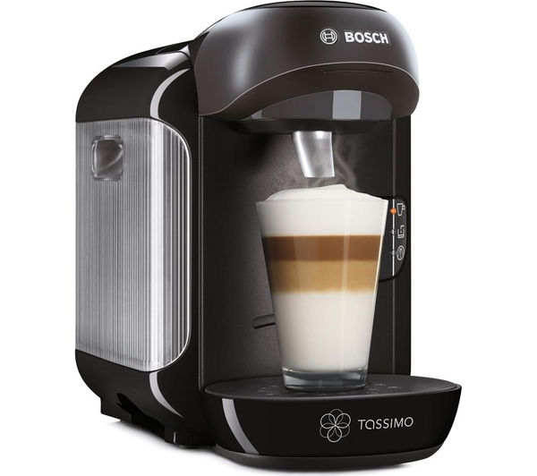 buy tassimo by bosch vivy tas1252gb hot drinks machine black free delivery currys. Black Bedroom Furniture Sets. Home Design Ideas
