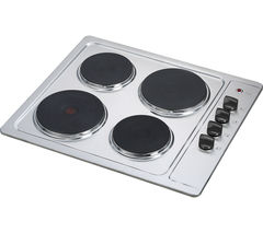 ESSENTIALS CSPHOBX15 Electric Solid Plate Hob - Stainless Steel