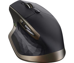 LOGITECH MX Master Wireless Darkfield Mouse - Black & Gold