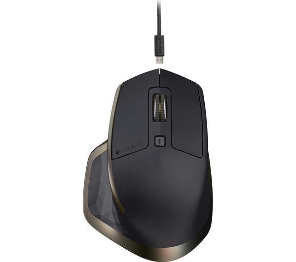 Image of LOGITECH MX Master Wireless Darkfield Mouse - Black & Gold