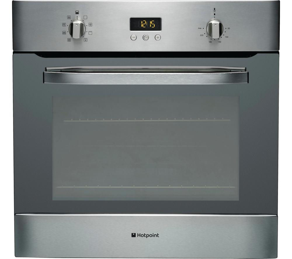 Image of Hotpoint SH83CXS Electric Oven - Stainless Steel, Stainless Steel