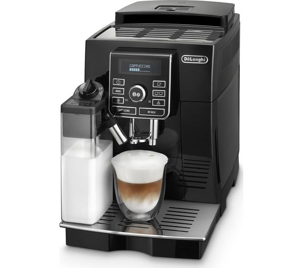 buy delonghi magnifica s ecam bean to cup coffee machine black free delivery currys. Black Bedroom Furniture Sets. Home Design Ideas