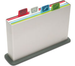 JOSEPH JOSEPH Index 60026 Chopping Board Set - Silver