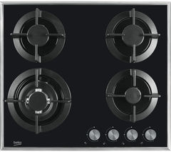 BEKO Select HISW64222SB Gas Hob - Black