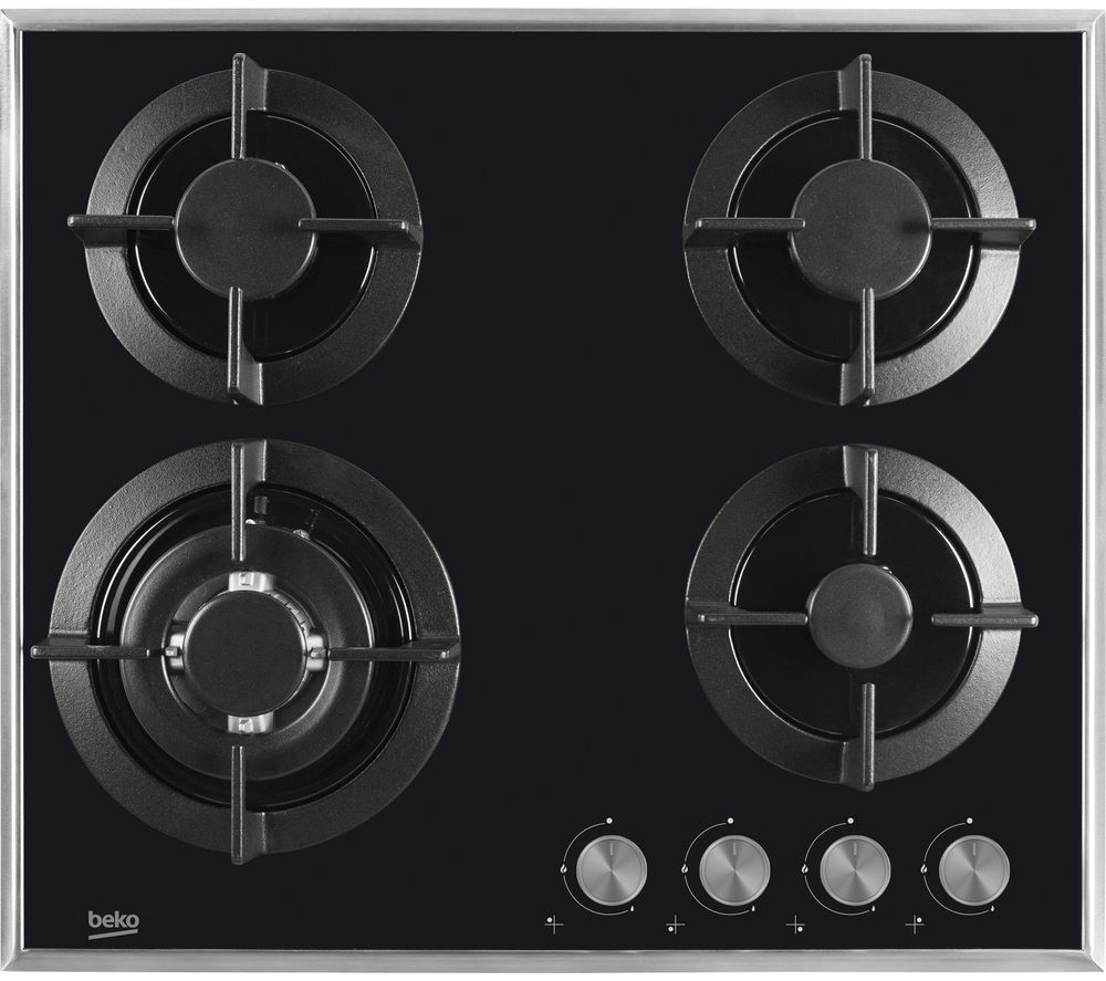 BEKO  Select HISW64222SB Gas Hob  Black Black