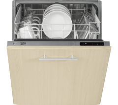 BEKO DIN15210 Full-Size Integrated Dishwasher