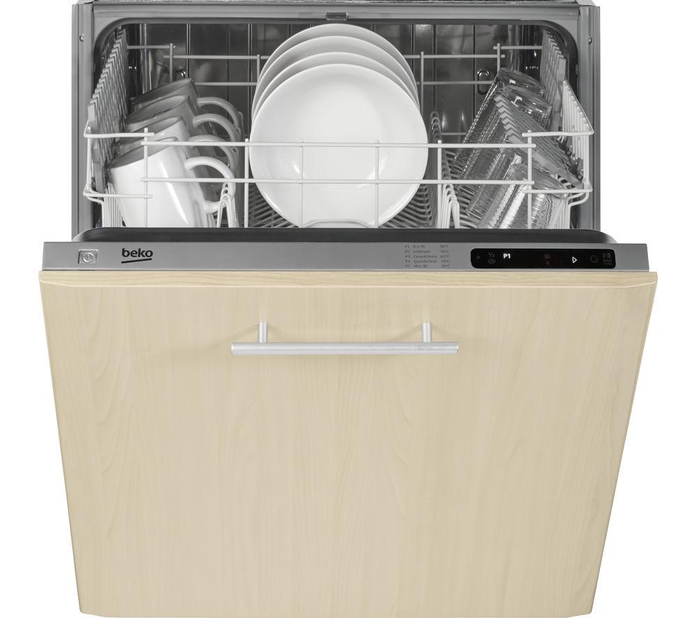 BEKO DIN15210 Full-Size Integrated Dishwasher