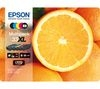 EPSON No. 33 Oranges XL 5-Colour Ink Cartridges - Multipack