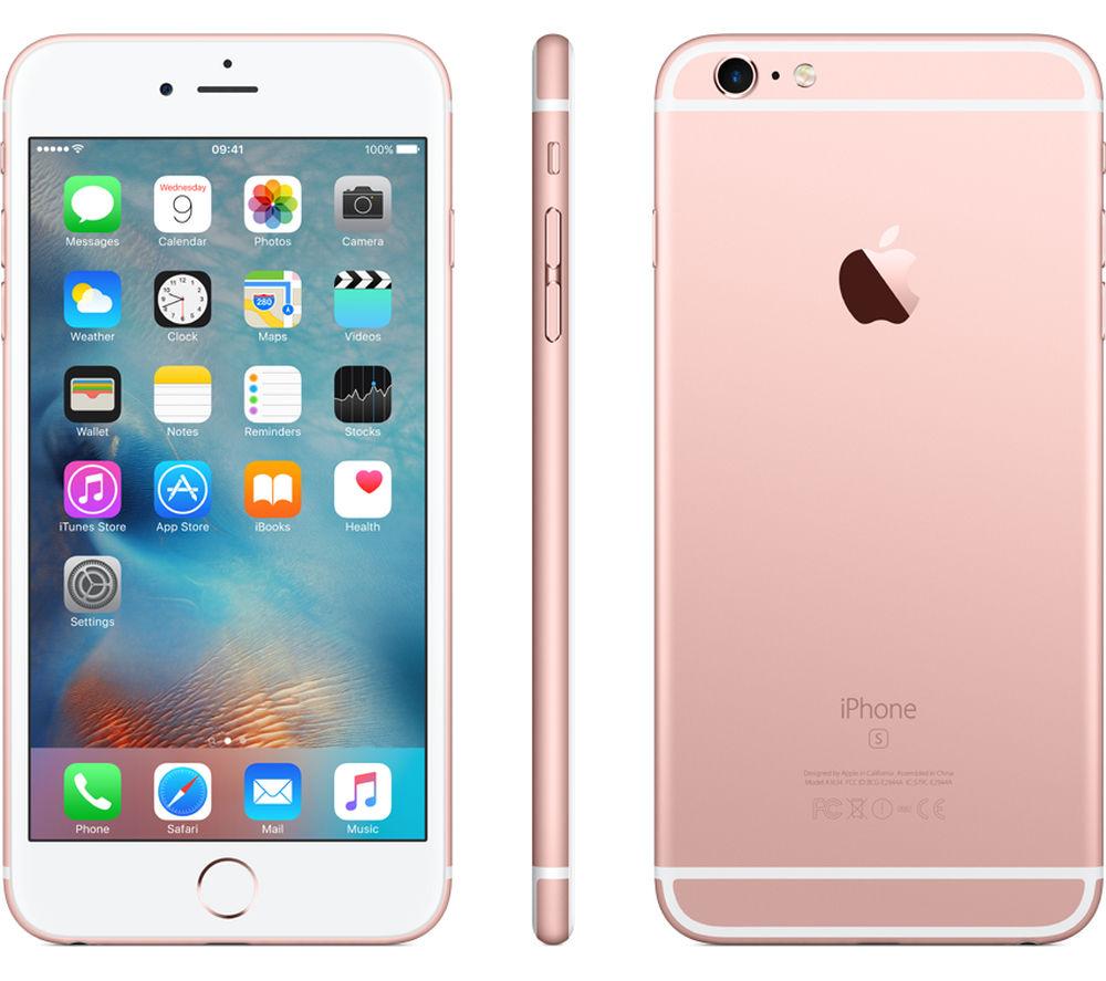 apple iphone 6s plus 16 gb rose gold deals pc world. Black Bedroom Furniture Sets. Home Design Ideas