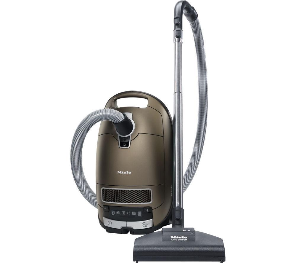 MIELE Complete C3 Total Solution PowerLine Cylinder Vacuum Cleaner - Havana Brown