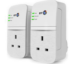 BT Broadband Extender Flex 600 Powerline Adapter Kit - Twin Pack