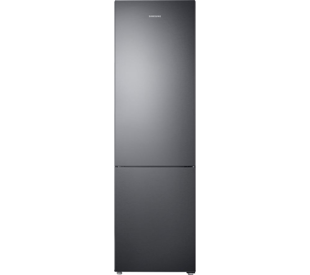 Black fridge and freezer
