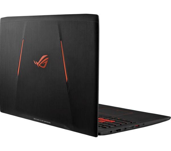 asus republic of gamers gl502 15 6 gaming laptop black. Black Bedroom Furniture Sets. Home Design Ideas