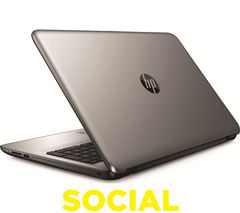 "HP 15-ba054sa 15.6"" Laptop - Silver"