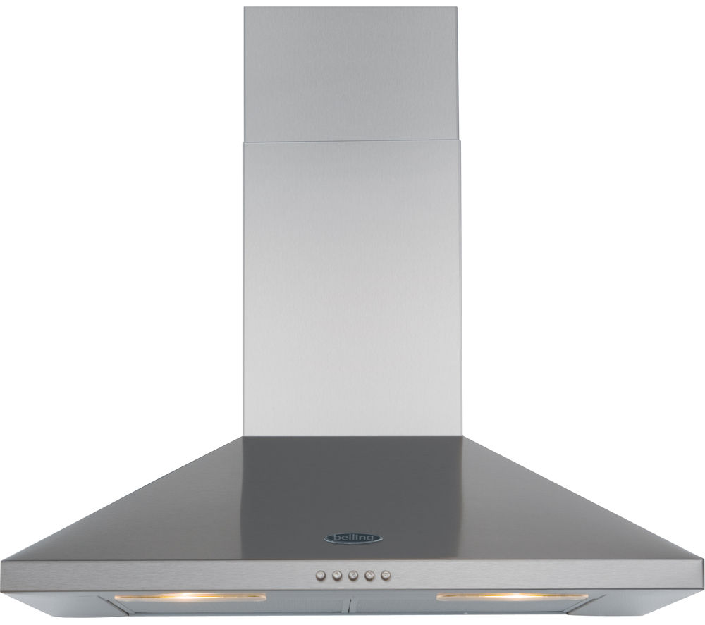 BELLING  70CHIM Chimney Cooker Hood  Stainless Steel Stainless Steel