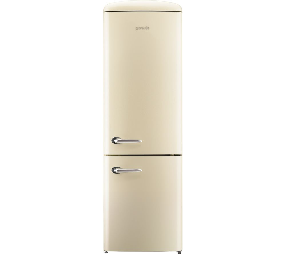 buy gorenje ork193c fridge freezer cream free delivery currys. Black Bedroom Furniture Sets. Home Design Ideas