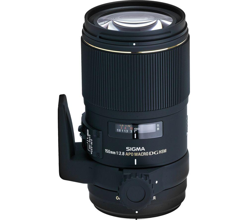 SIGMA 150 mm f/2.8 APO EX DG HSM Macro Lens - for Nikon