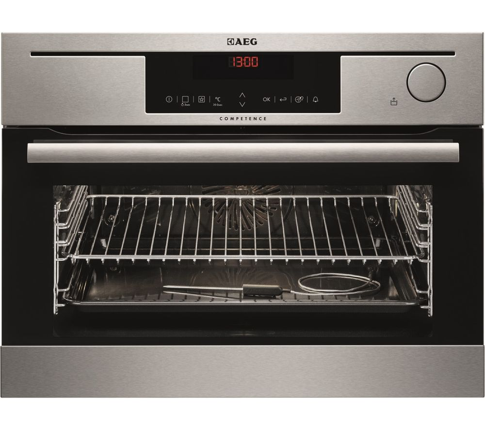 AEG  KS8404721M Electric Oven  Stainless Steel Stainless Steel