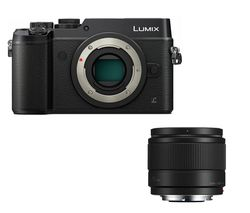 PANASONIC DMC-GX8EB-K Mirrorless Camera - Black, Body Only