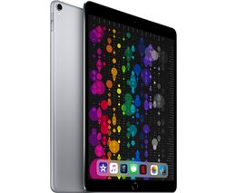 "APPLE 10.5"" iPad Pro Cellular - 256 GB, Space Grey (2017)"