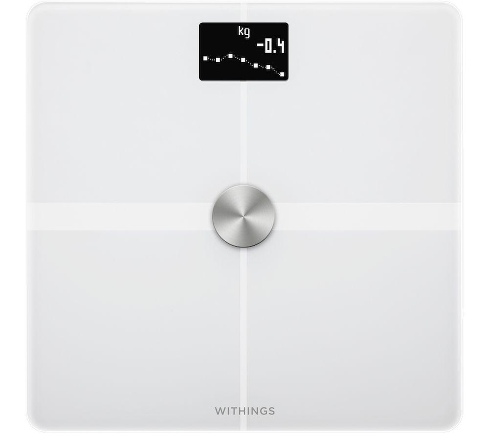 NOKIA Body+ WBS05 Body Composition Smart Scale - White