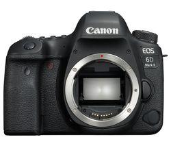CANON EOS 6D Mark II DSLR Camera - Black, Body Only