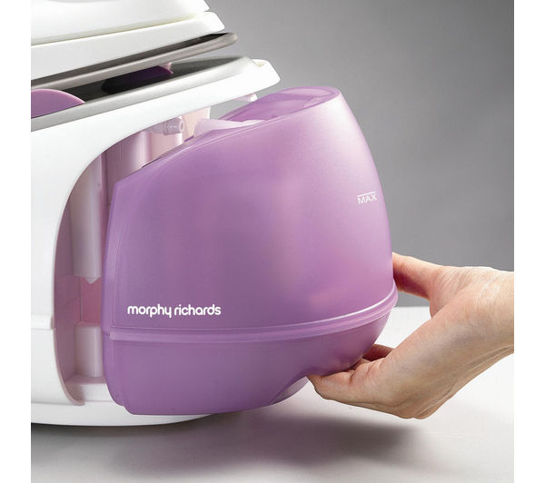 how to open morphy richards steam iron