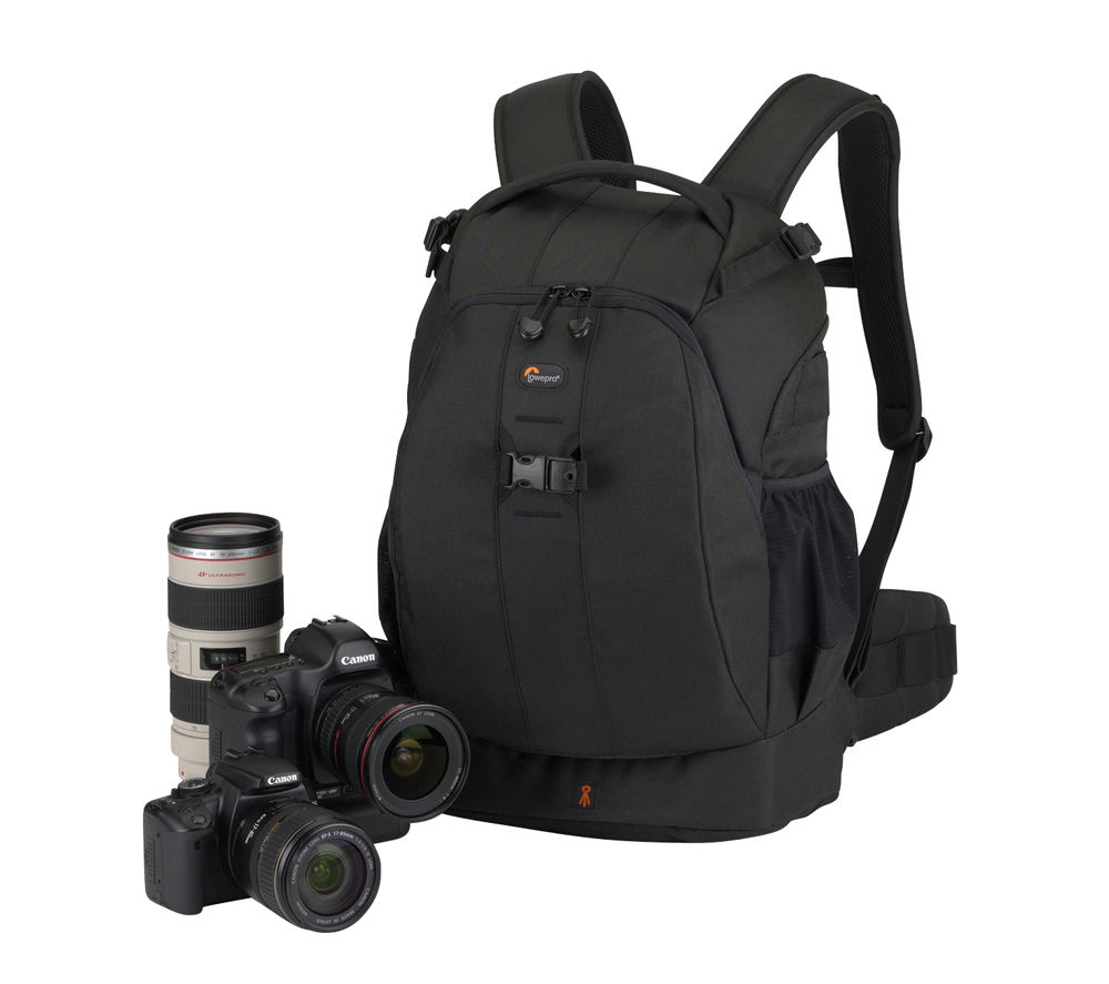 LOWEPRO Flipside 400 AW DSLR Backpack - Black