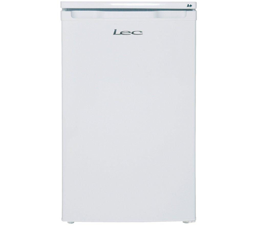 LEC  R5010W Undercounter Fridge  White White