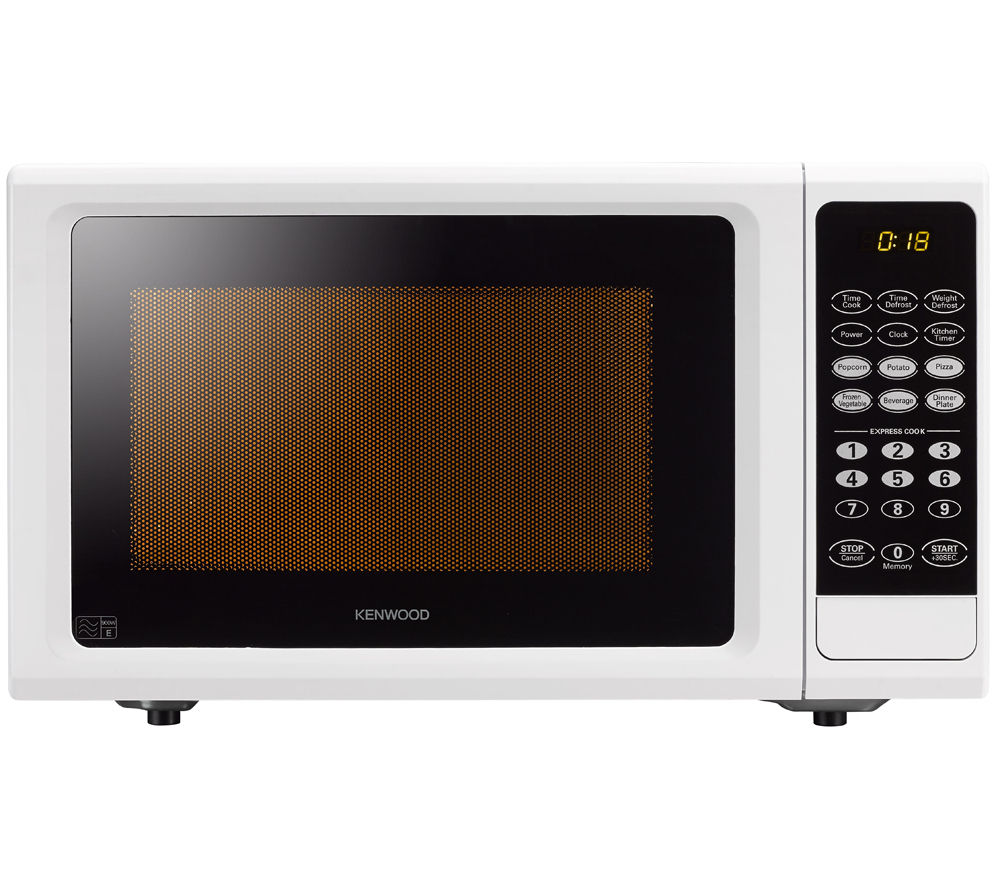 KENWOOD K25MW14 Solo Microwave - White + Round 2.6-litre Rice Steamer