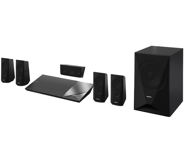 buy sony bdv n5200w 5 1 smart 3d blu ray home cinema system free delivery currys. Black Bedroom Furniture Sets. Home Design Ideas