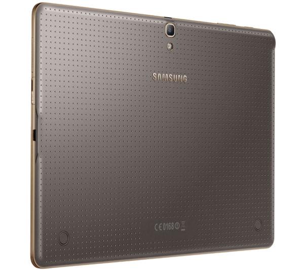 samsung galaxy tab s 10 5 tablet bronze deals pc world. Black Bedroom Furniture Sets. Home Design Ideas