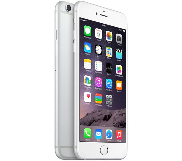 apple iphone 6 plus 16 gb silver. Black Bedroom Furniture Sets. Home Design Ideas
