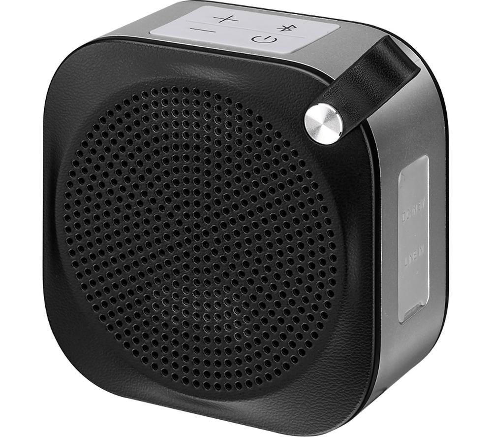 Image of JVC SP-AD50-B Wireless Portable Speaker - Black, Black