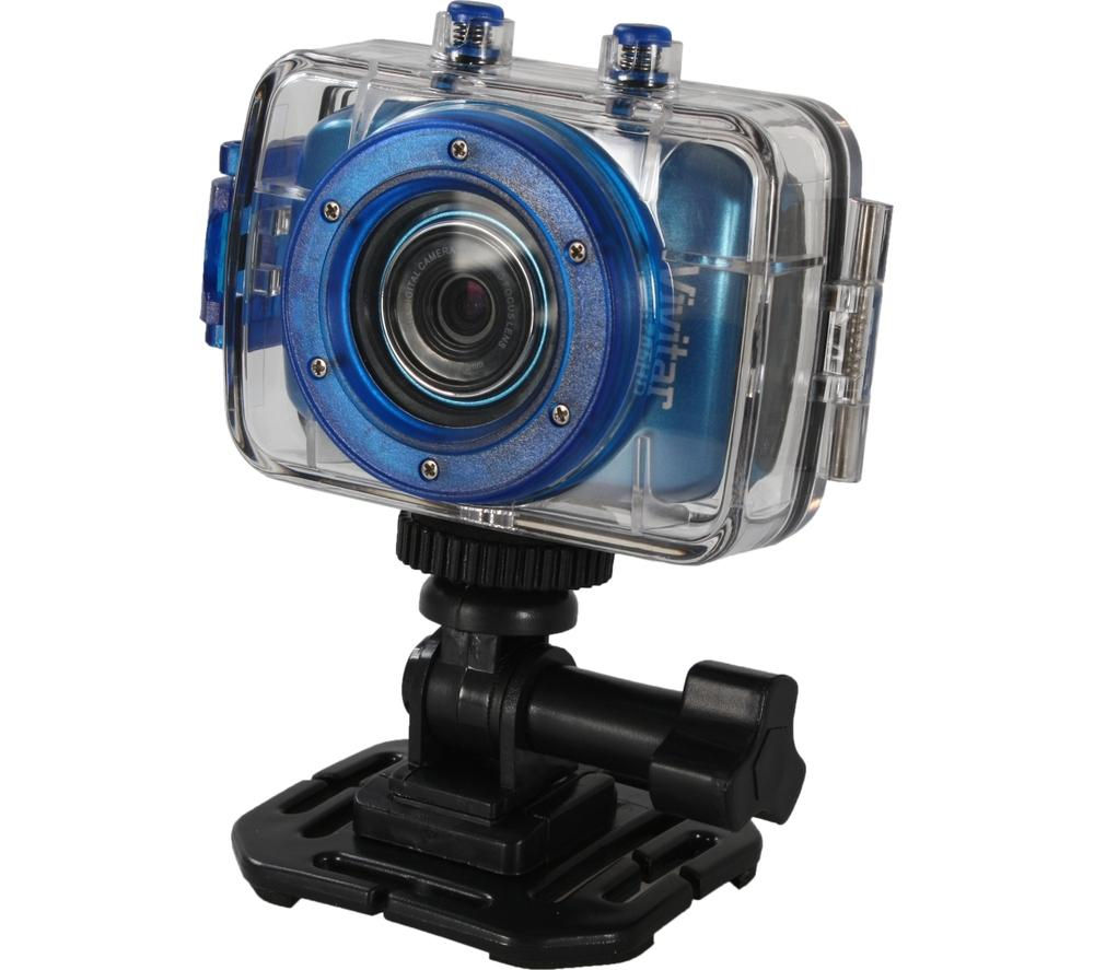 Camera Vivitar Action Cam buy vivitar dvr786hd action camcorder blue free delivery currys blue