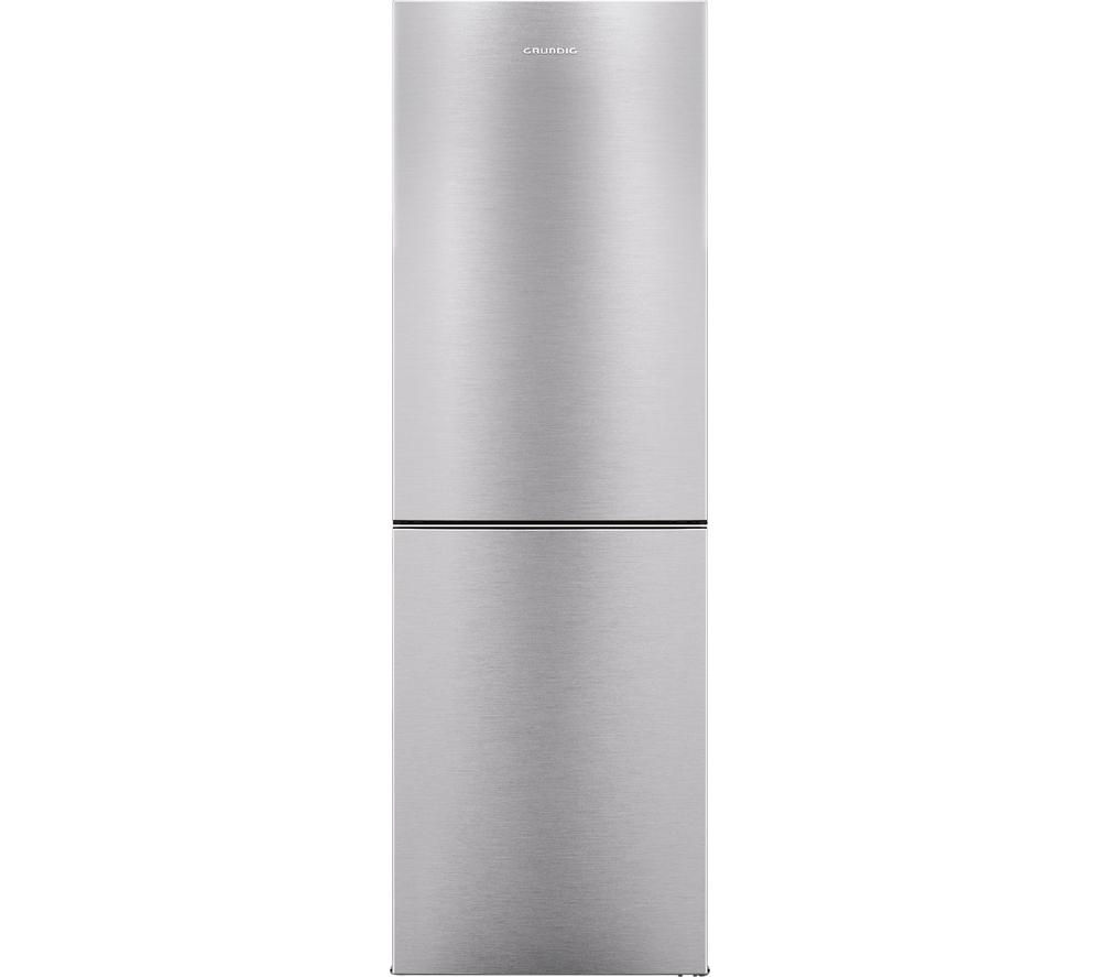 GRUNDIG  GKN16715X Fridge Freezer  Stainless Steel Stainless Steel