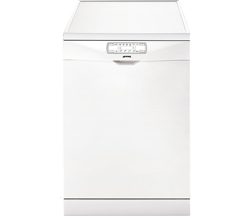 Image of SMEG DFD6133WH Full Size Dishwasher - White, White
