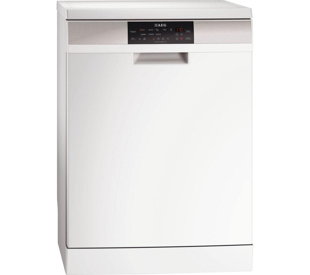 AEG ProClean F88709W0P Full-size Dishwasher - White