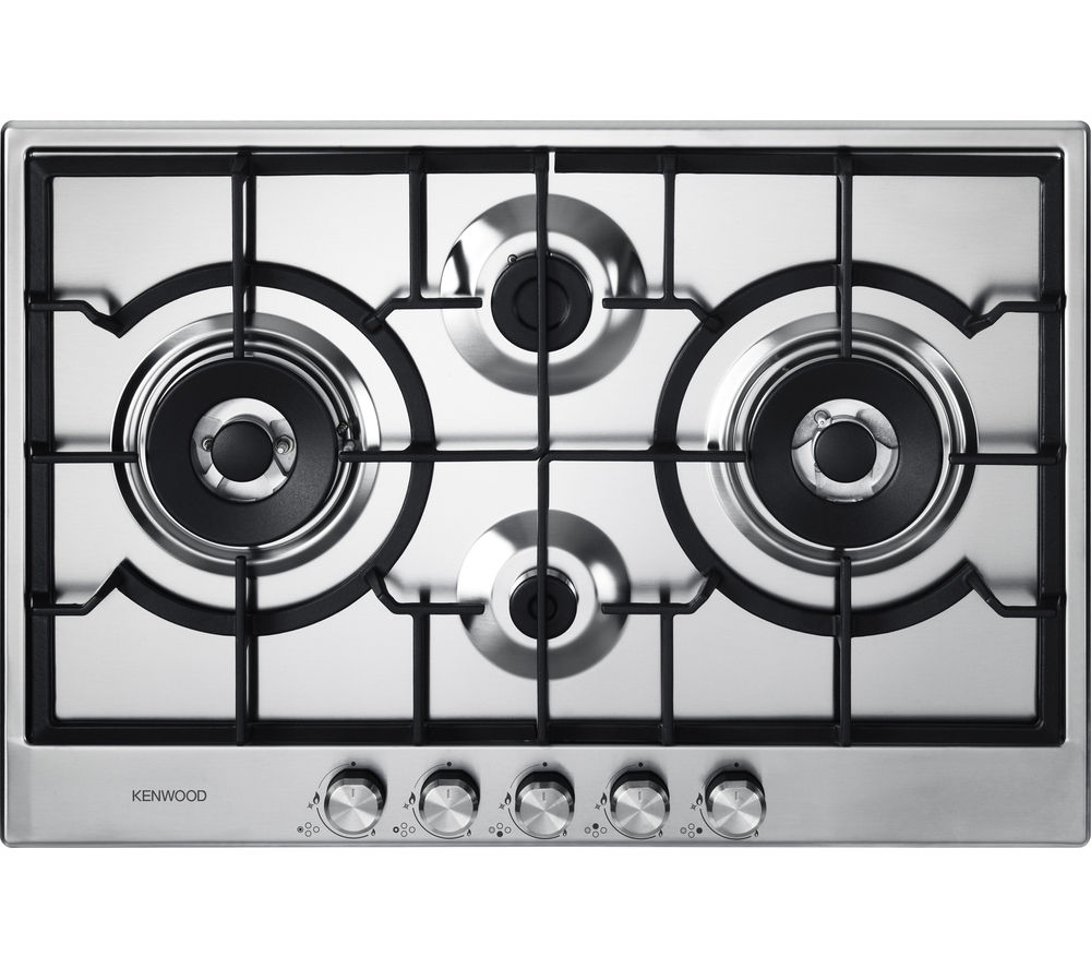 KENWOOD KHG704SS Gas Hob - Stainless Steel