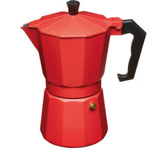 LE'XPRESS Italian Style Espresso Coffee Maker - Red