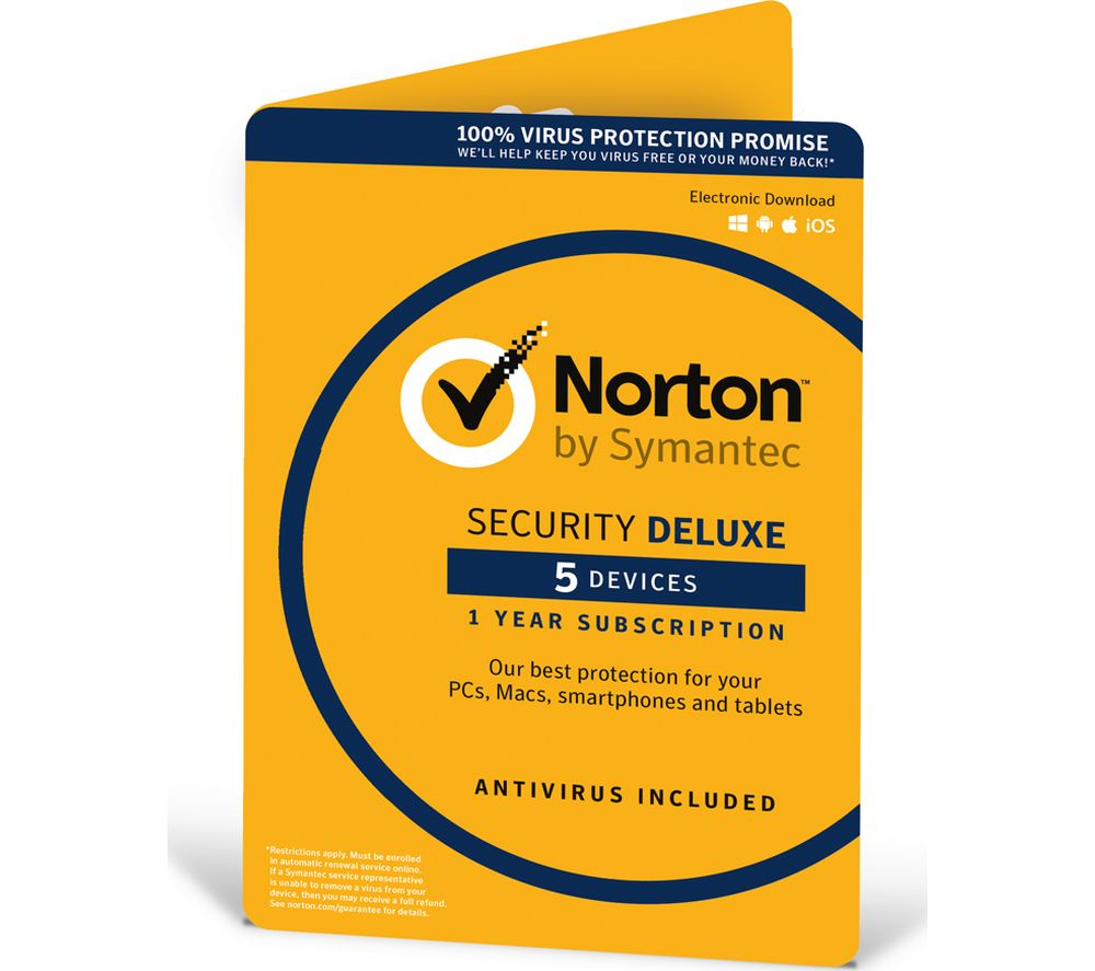 Today's Norton Antivirus deal: 57% Off Norton Security Deluxe + Free Norton Secure VPN. Get 28 coupons or coupon codes for December. RetailMeNot, #1 coupon destination.