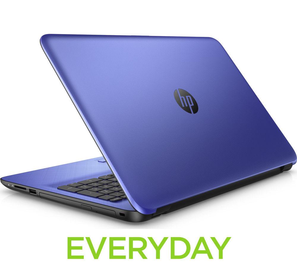 """Image of HP 15-af165sa 15.6"""" Laptop - Blue, Blue"""