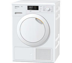 MIELE TKB140 Heat Pump Tumble Dryer - White