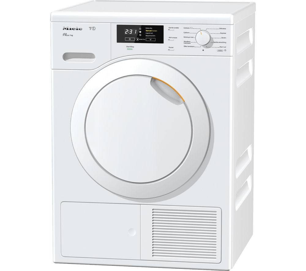 MIELE  TKB140 Heat Pump Tumble Dryer  White White