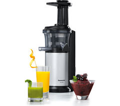 Panasonic Mj L500sxc Slow Juicer With Frozen Sorbet Attachment 150 W : Juicers and blenders - Cheap Juicers and blenders Deals Currys