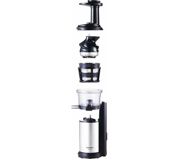Panasonic Slow Juicer Mj L500sxc : Buy PANASONIC MJ-L500SXC Juicer - Silver Free Delivery Currys