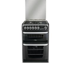 CANNON CH60DHKFS 60 cm Dual Fuel Cooker - Black