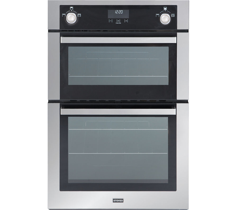 STOVES  Professional SGB900MFSe Gas Double Oven  Stainless Steel Stainless Steel