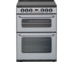 NEW WORLD EC600DOm Electric Cooker - Silver