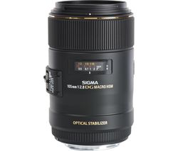 SIGMA 105 mm f/2.8 EX DG HSM Macro Lens - for Canon